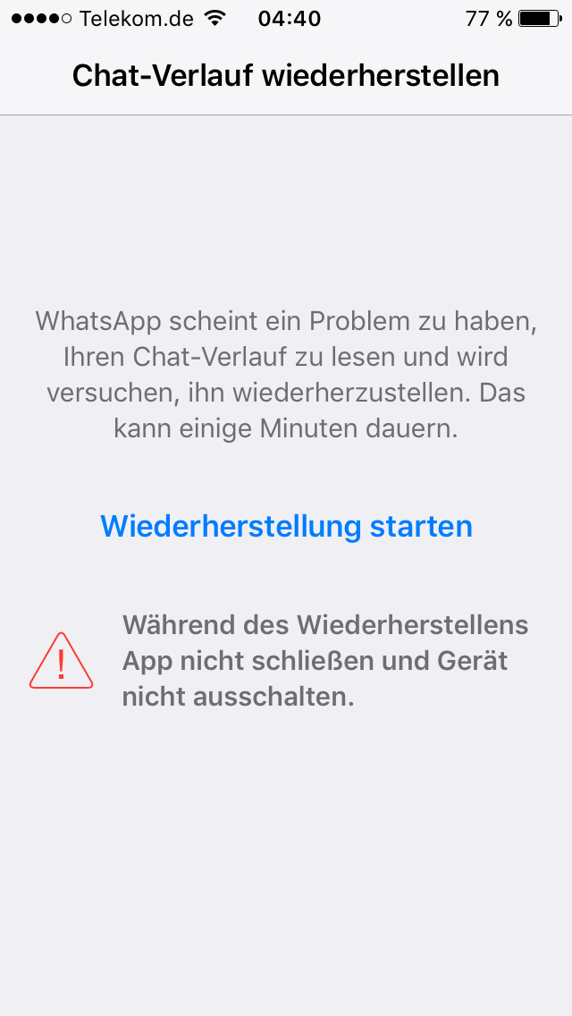 whatsapp chatverlauf icloud lesen