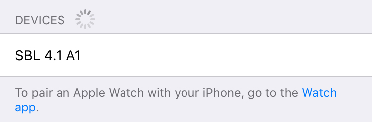 ignorierte geräte iphone