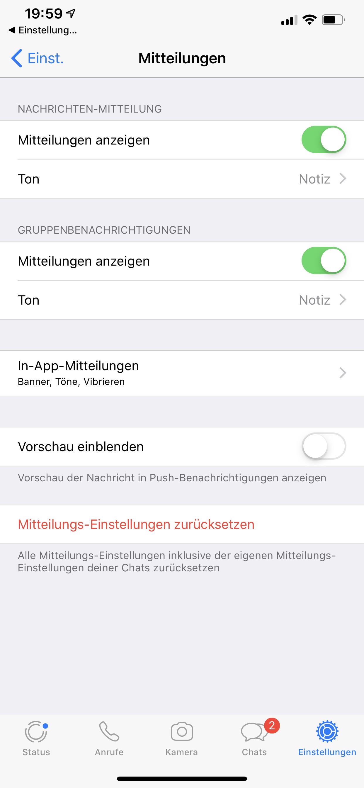 Ausblenden whatsapp ios anderer profilbild WhatsApp Status