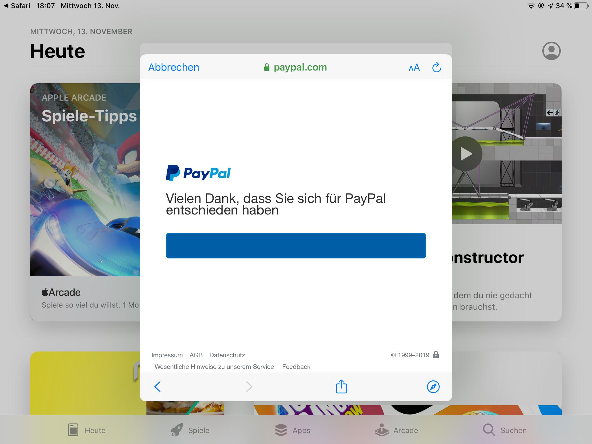 Paypal Bankkonto Hinzufügen Fehler