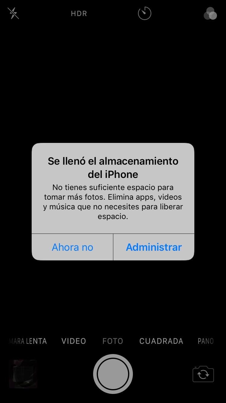 Tengo Espacio Pero Aún Así No Puedo De Comunidad De Apple