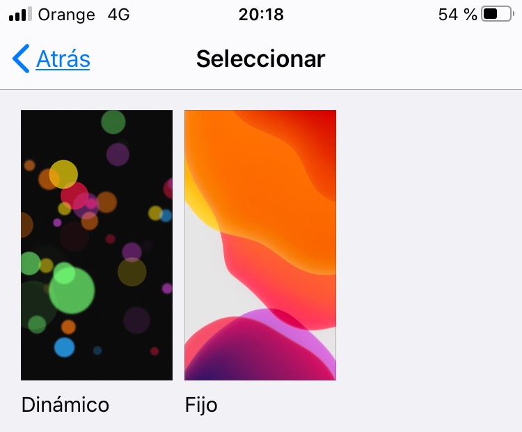 Fondo Live En Iphone Se 2020 Comunidad De Apple