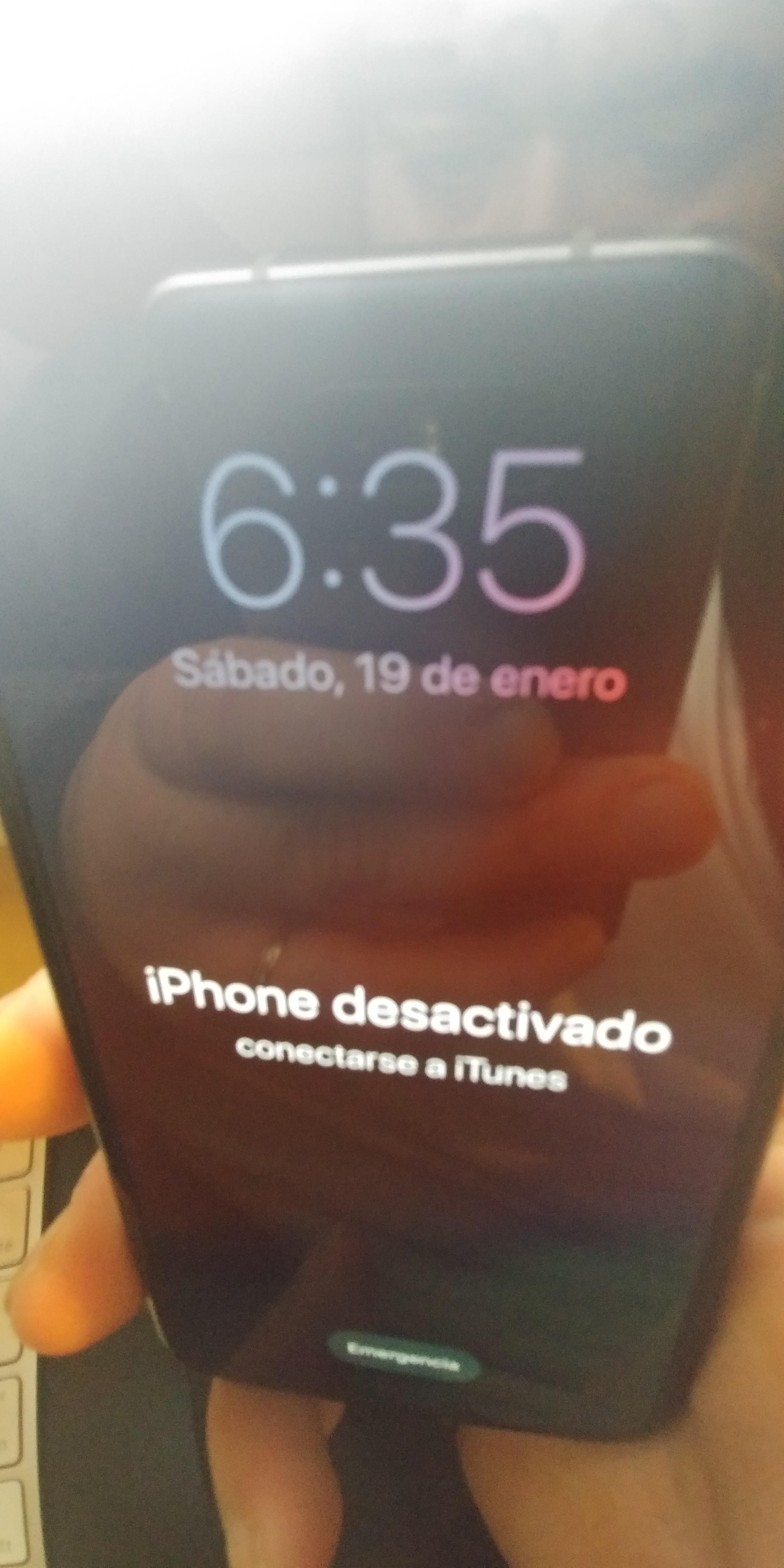 Mi Iphone X Se Me Bloqueo Y No Puedo D Comunidad De Apple