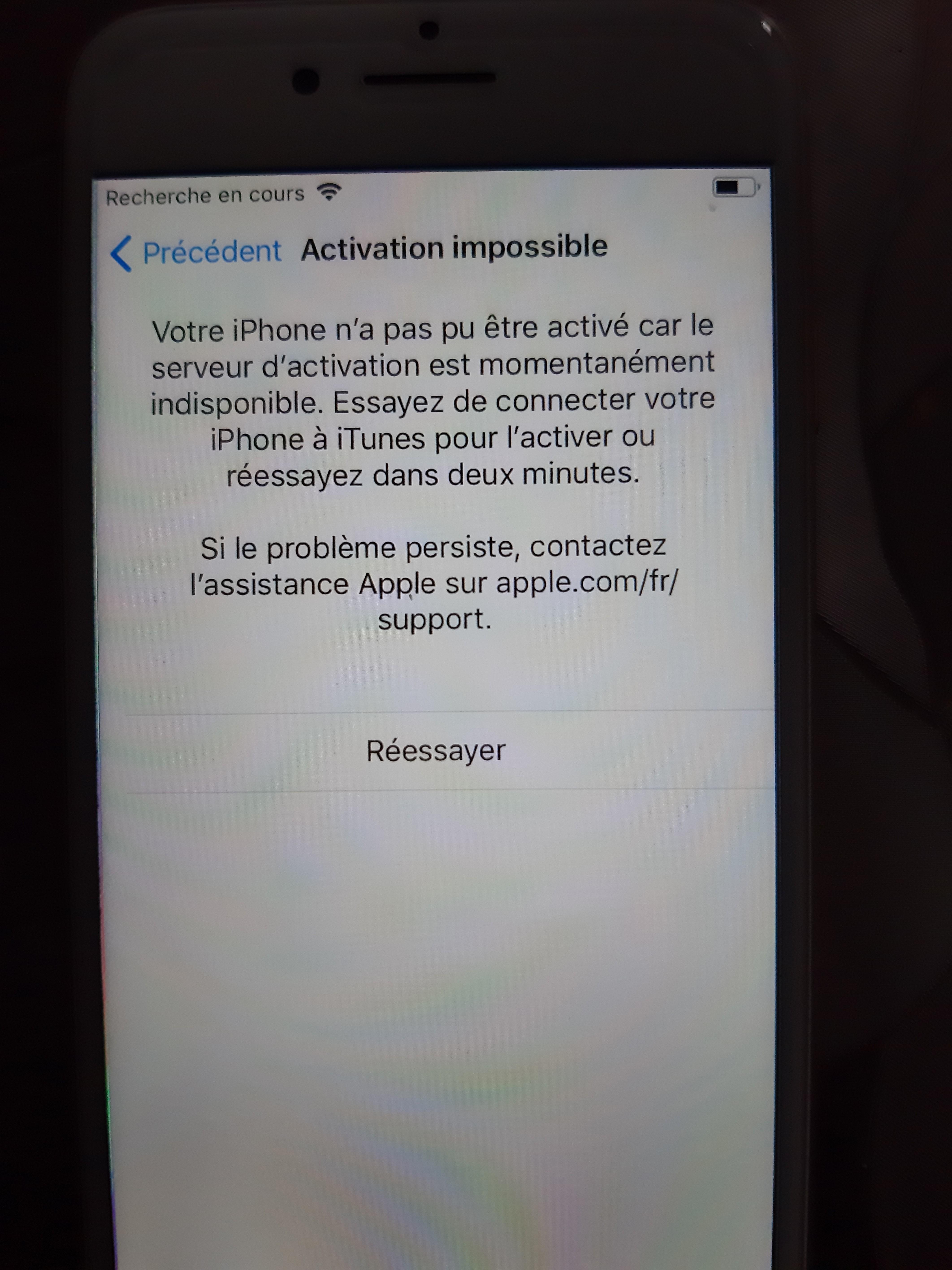 mon iphone ne reconnait pas ma carte sim iPhone ne détecte plus carte SIM   Communauté Apple