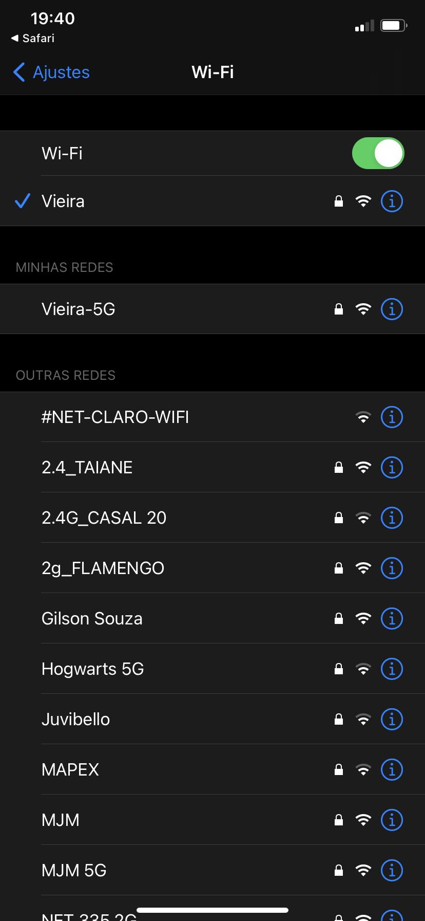 iPhone XR   O ícone do Wi Fi sumiu   Comunidade da Apple